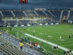 "FIU has barely been able to ""Cage"" 15,000 fans a game this year...falling below the NCAA two-year average requirement."
