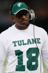 Tulane Coach Curtis Johnson is doing a heck-of-a-job turning around the Green Wave program.