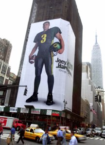 People laughed, but this billboard in NYC may have been instrumental in Oregon's climb to prominence.