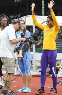 Tynita Butts put ECU in the spotlight in 2014...can the Pirates keep it rollin' in the AAC?