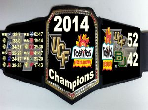 UCF earned it...so they are currently 'The Man' that ECU needs to beat, to be.
