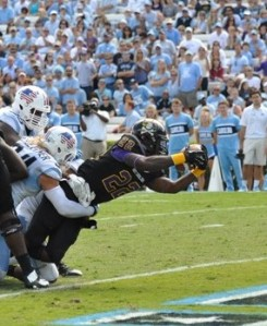 Healthy and hungry: Hairston knows how to get in the end zone and will see the promised land more in 2014.