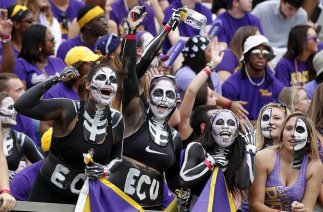 Skeleton Crew: Even our crowd has become nationally known...these gals get it! But the other 49,994 fans need to be there, too.