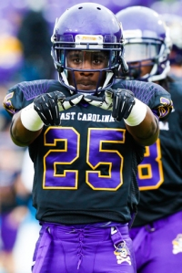 A Pirate Weapon: How much ECU utilizes Breon Allen and the rest of the backs could determine success in Philly.