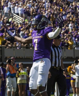 Keep it rolling: Isaiah Jones and ECU O needs to keep on keeping on this week.