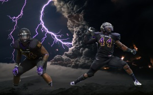 Thunder and LIghtning: Bigger (44) and Williams (24) are a noteworthy LB tandem for ECU